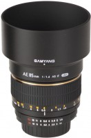 Купить объектив Samyang 85mm f/1.4 Aspherical IF AE: цена от 8712 грн.
