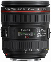 Купить объектив Canon EF 24-70mm f/4L IS USM: цена от 16669 грн.