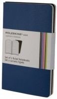 Купить блокнот Moleskine Set of 2  Ruled  Volant Notebooks Prussian Blue по цене от 325 грн.