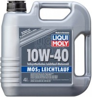 liqui moly mos2 leichtlauf 10w 40 4l. Black Bedroom Furniture Sets. Home Design Ideas
