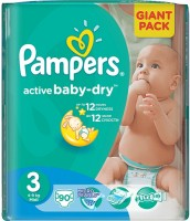описание, цены на Pampers Active Baby-Dry 3