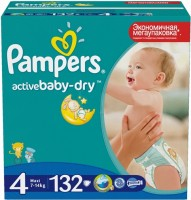 описание, цены на Pampers Active Baby-Dry 4