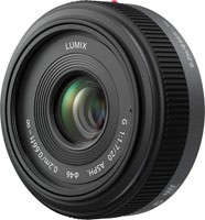 Купить объектив Panasonic H-H020 20mm f/1.7: цена от 7892 грн.