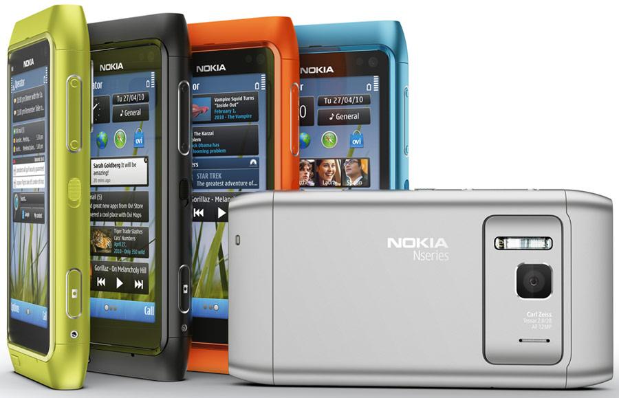 Мобильный телефон Nokia N8.