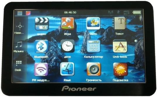 Навигатор Инструкция Pioneer Pi7001