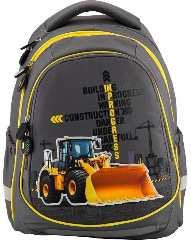 f633ba99fd37 Школьный рюкзак (ранец) KITE 700 Under Construction купить ▷ цены и отзывы  магазинов Украины: продажа в Киеве, Днепропетровске, Одессе   MagaZilla