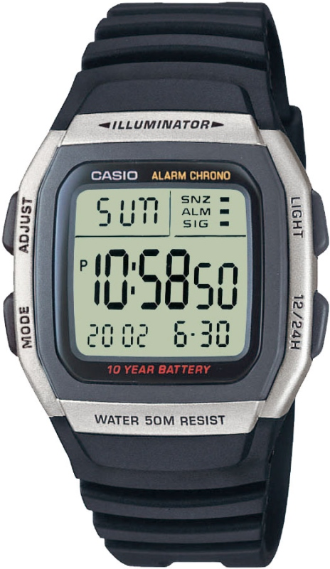 Наручные часы Casio W-96H-1AVEF. Обзоры d7cd0d4114ecf