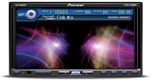 о Pioneer AVH-P6800DVD
