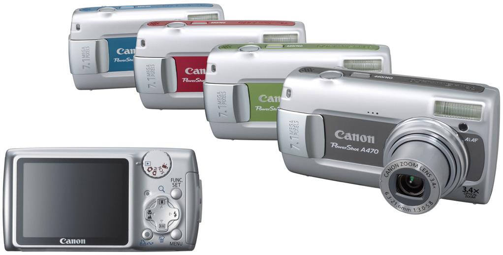 Инструкция canon powershot a470