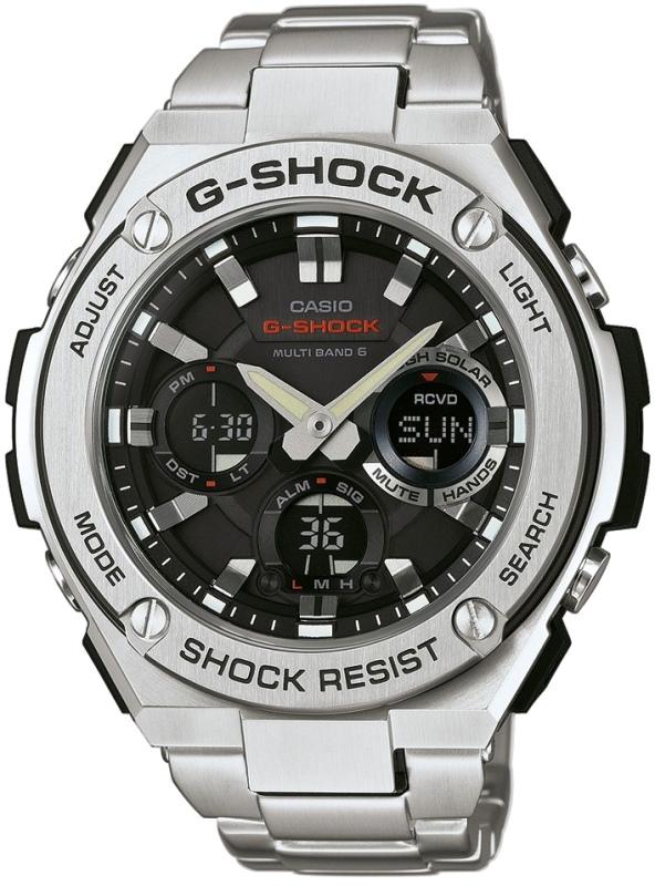 Наручные часы Casio GST-W110D-1A купить ▷ цены и отзывы магазинов Украины   продажа в Киеве 2312a90aad228