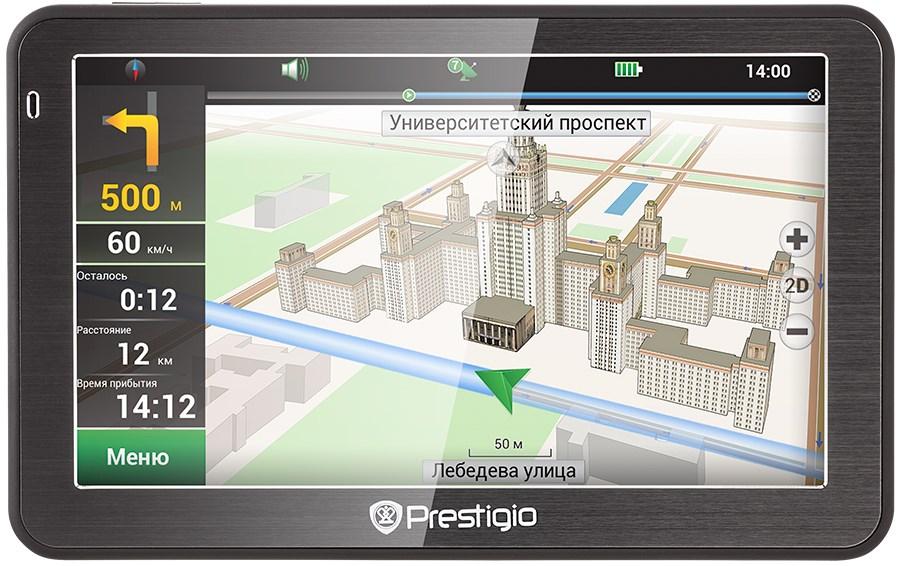 Навигатор gps prestigio gv 5058