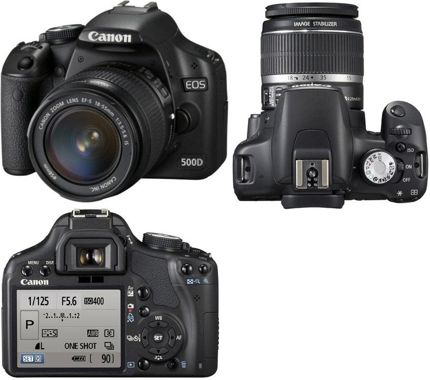 Canon d 500 инструкция