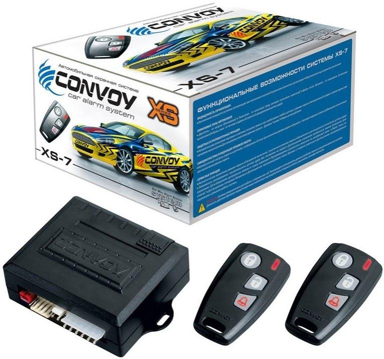 автосигнализация convoy xs 7 инструкция