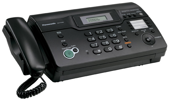 Схема факса panasonic kx ft938