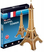 Купить 3D пазл CubicFun Mini Eiffer Tower S3006h: цена от 69 грн.