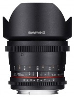 Купить объектив Samyang 10mm T3.1 ED AS NCS CS VDSLR: цена от 11772 грн.