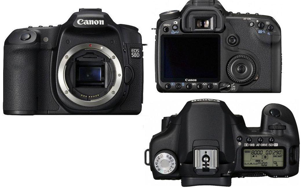Фотоаппарат Canon EOS 50D body купить ▷ цены и отзывы